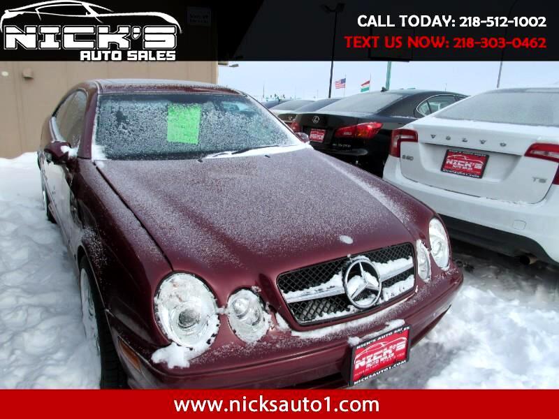 2002 Mercedes-Benz CLK-Class CLK430 Coupe
