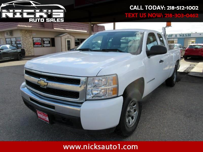 2009 Chevrolet Silverado 1500 Work Truck Ext. Cab Long Box 4WD