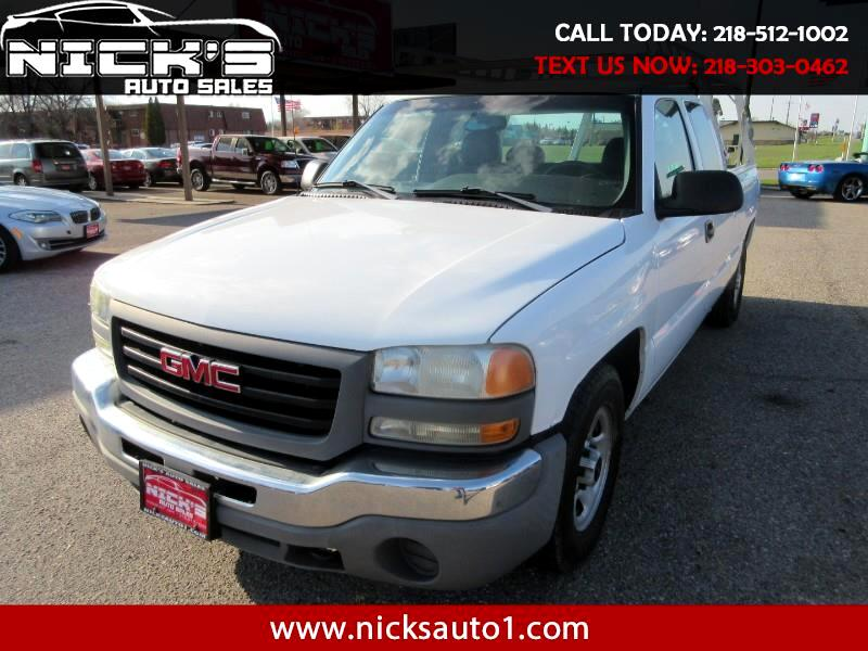 2004 GMC Sierra 1500 Work Truck Ext. Cab Long Bed 2WD