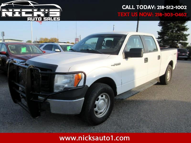 Ford F-150 XL SuperCrew 6.5-ft. Bed 4WD 2014