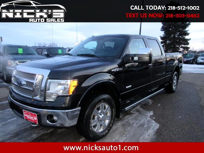 Ford F-150 Lariat SuperCrew 6.5-ft. Bed 4WD 2012