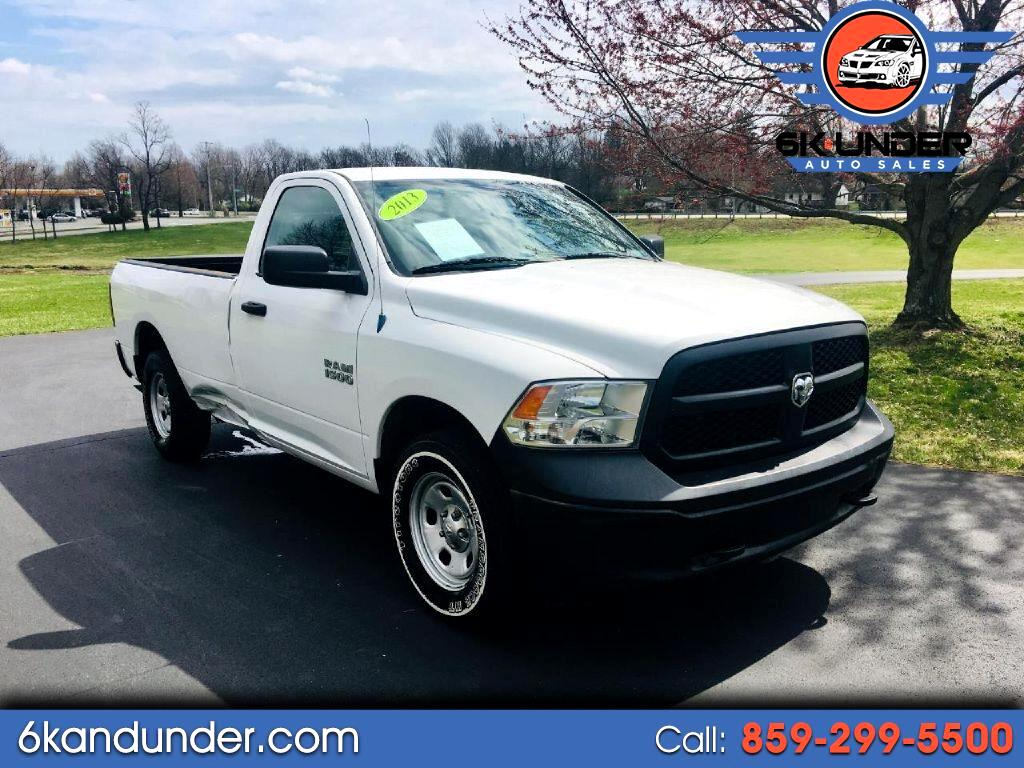2013 RAM 1500 Tradesman Regular Cab LWB 4WD