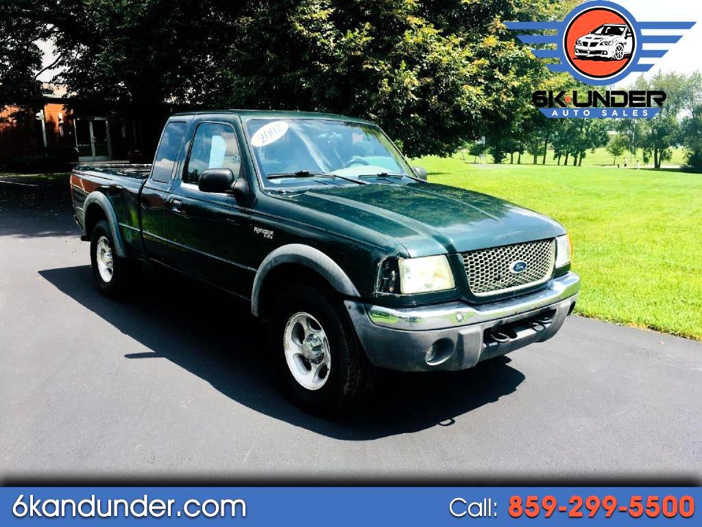 Ford Ranger XLT SuperCab 4WD - 394A 2002