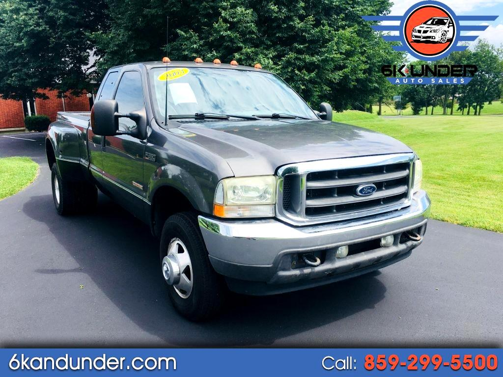 Ford F-350 SD XL SuperCab Long Bed 4WD DRW 2003