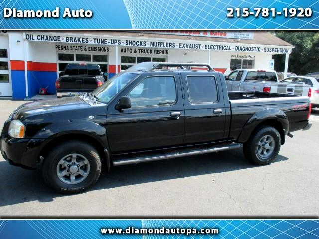2004 Nissan Frontier XE-V6 Crew Cab Long Bed 4WD