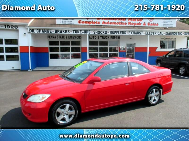 2004 Honda Civic EX Coupe AT