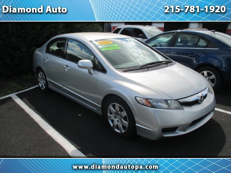 2010 Honda Civic LX SEDAN AT