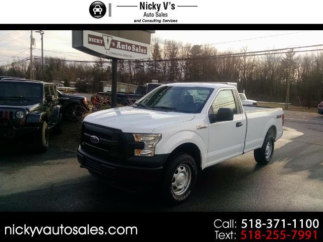 2016 Ford F-150 Reg. Cab Long Bed 4WD