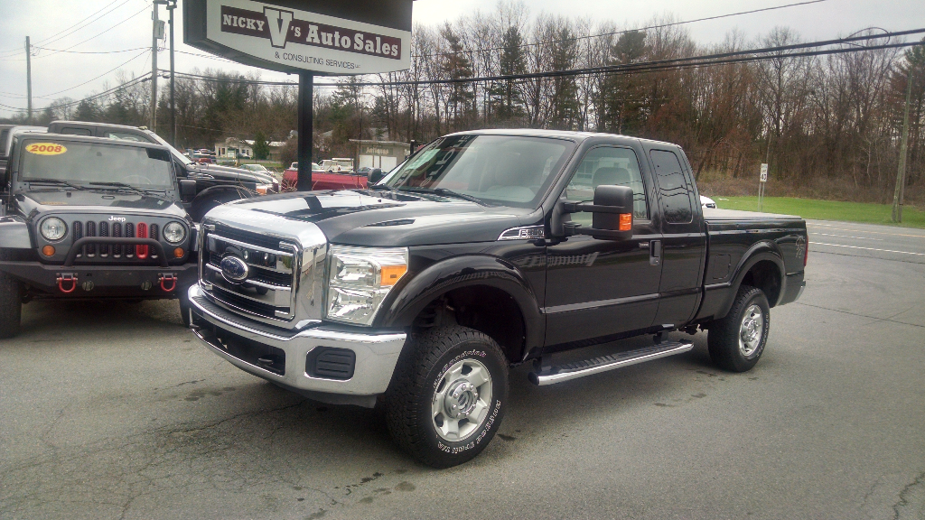 2012 Ford F-250 SD XLT SuperCab 4WD
