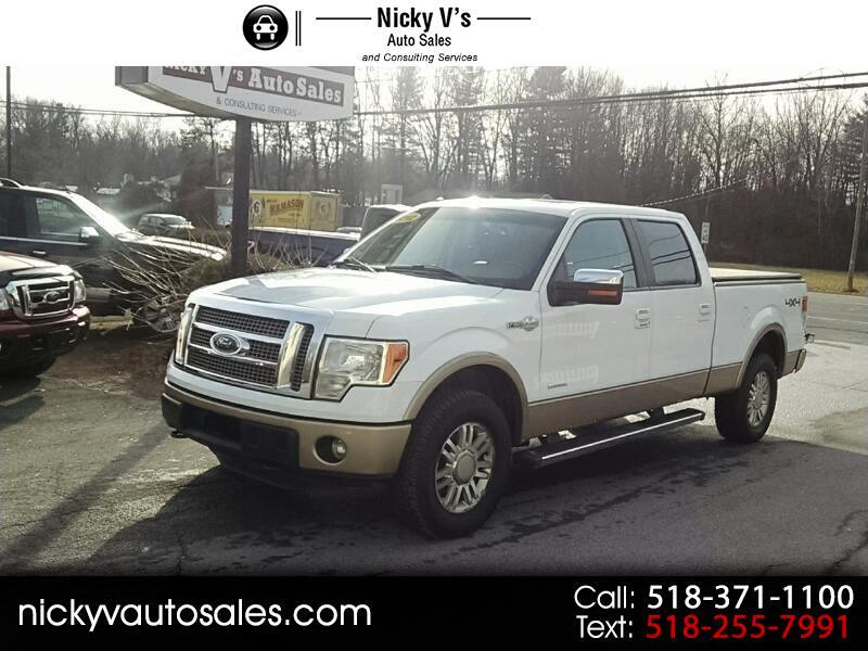 "2012 Ford F-150 4WD SuperCrew 157"" King Ranch"