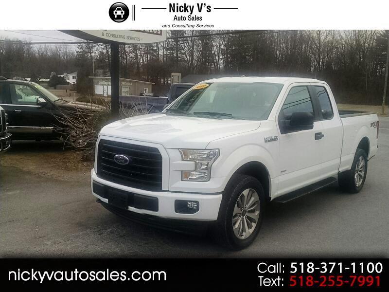2017 Ford F-150 XLT 4WD SuperCab 6.5' Box