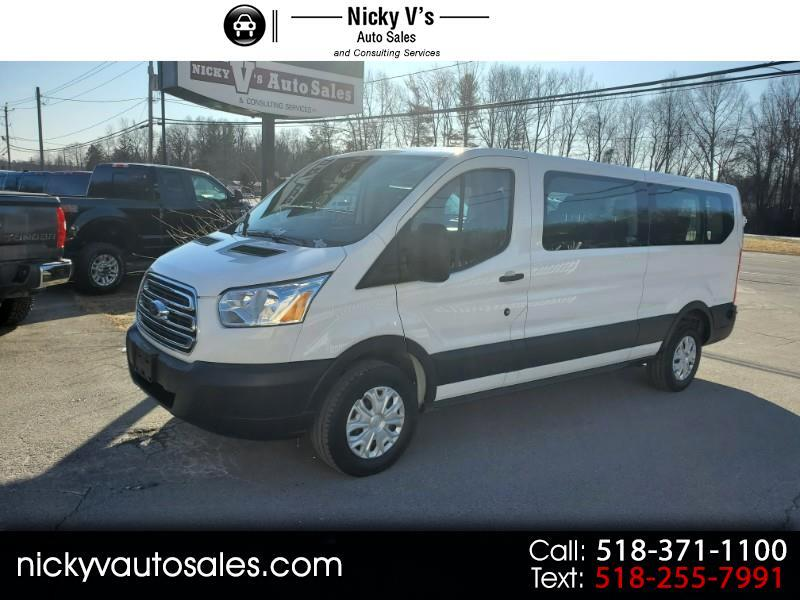 """Ford Transit Passenger Wagon T-350 148"""" Low Roof XLT Swing-Out RH Dr 2019"""