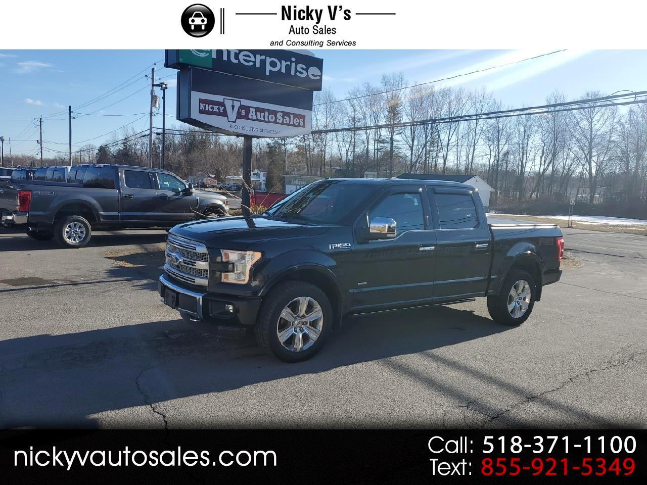 "Ford F-150 4WD SuperCrew 145"" Platinum 2015"