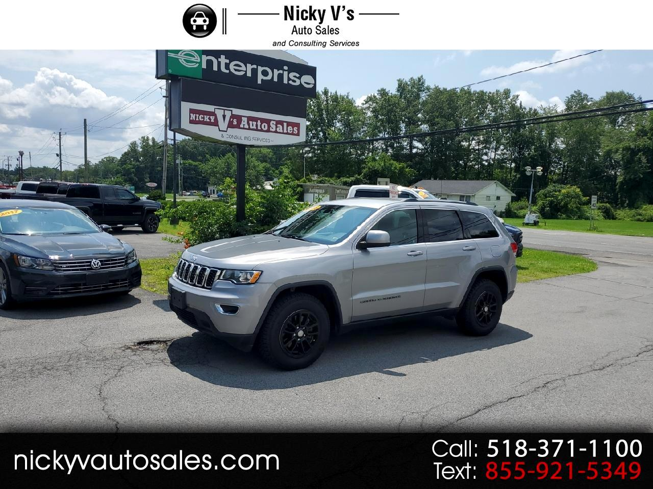 Jeep Grand Cherokee Laredo E 4x4 *Ltd Avail* 2018