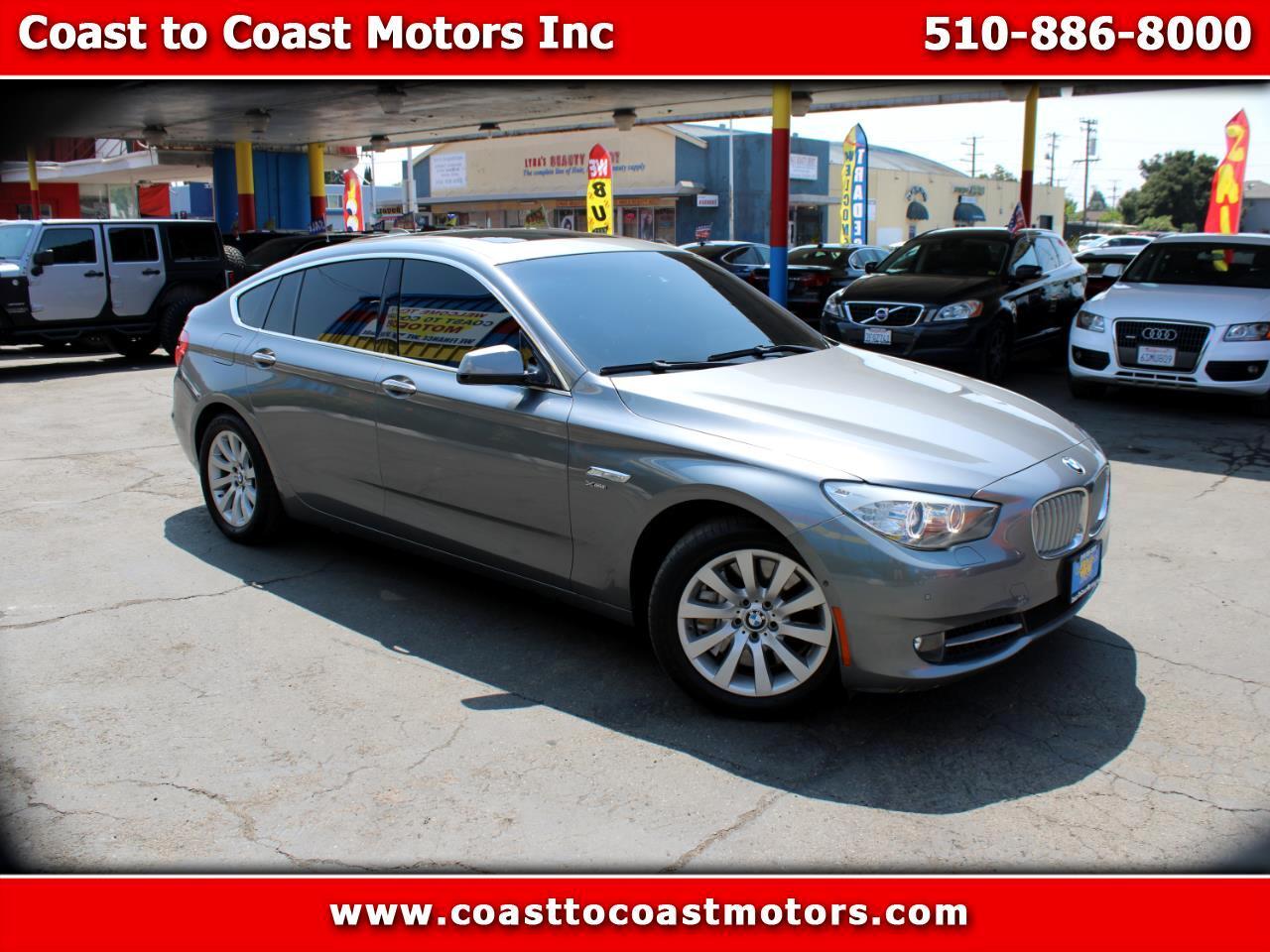 BMW 5 Series Gran Turismo 5dr 550i xDrive Gran Turismo AWD 2011