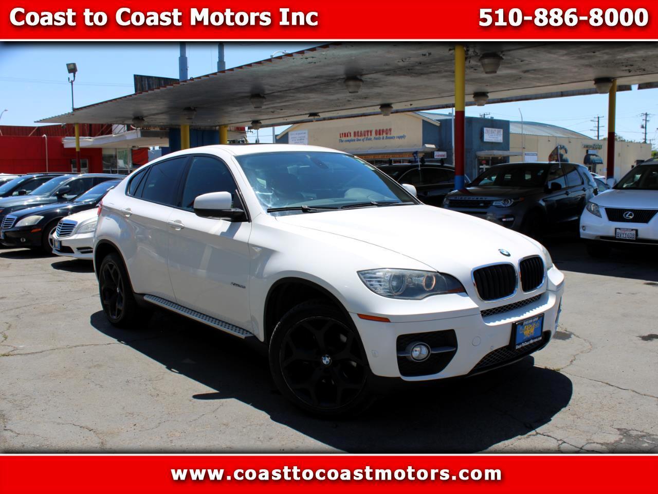 BMW X6 AWD 4dr 35i 2011