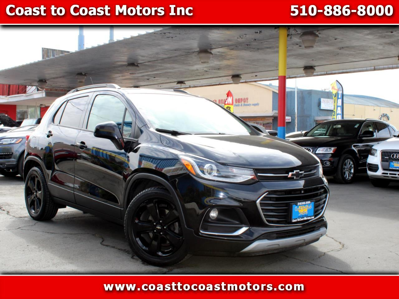 Chevrolet Trax FWD 4dr Premier 2018