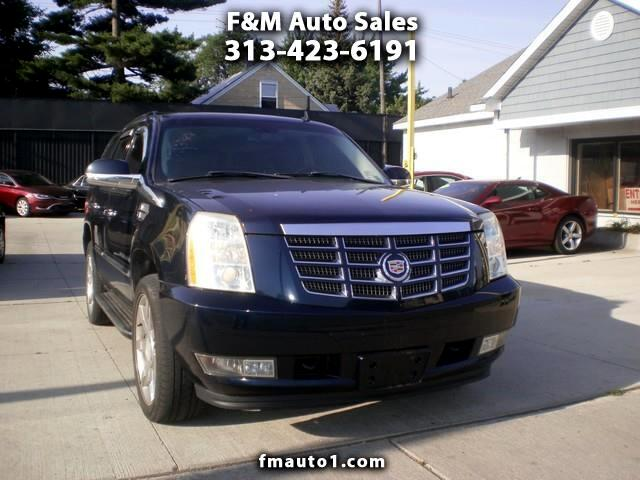 buy here pay here 2007 cadillac escalade awd for sale in detroit mi 48089 f m auto sales. Black Bedroom Furniture Sets. Home Design Ideas