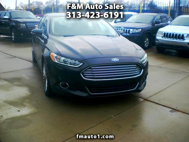 2014 Ford Fusion 4dr Sdn Titanium FWD