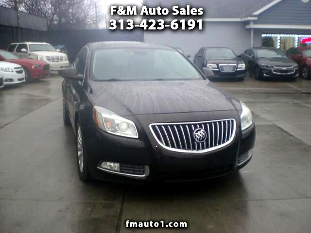 2011 Buick Regal 4dr Sdn CXL Turbo TO4 (Russelsheim) *Ltd Avail*