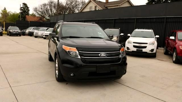 2012 Ford Explorer FWD 4dr Limited