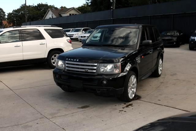 Land Rover Range Rover Sport 4WD 4dr SC 2008