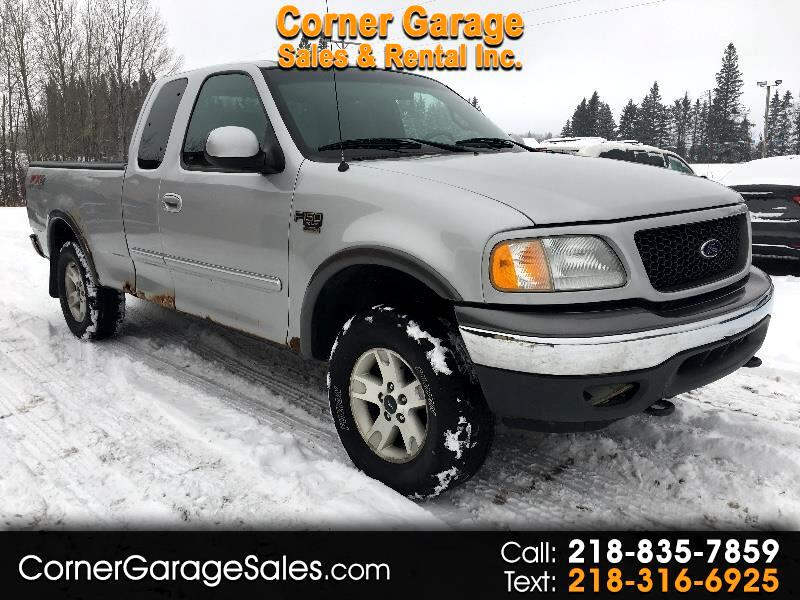 2002 Ford F-150 4WD SuperCab 145
