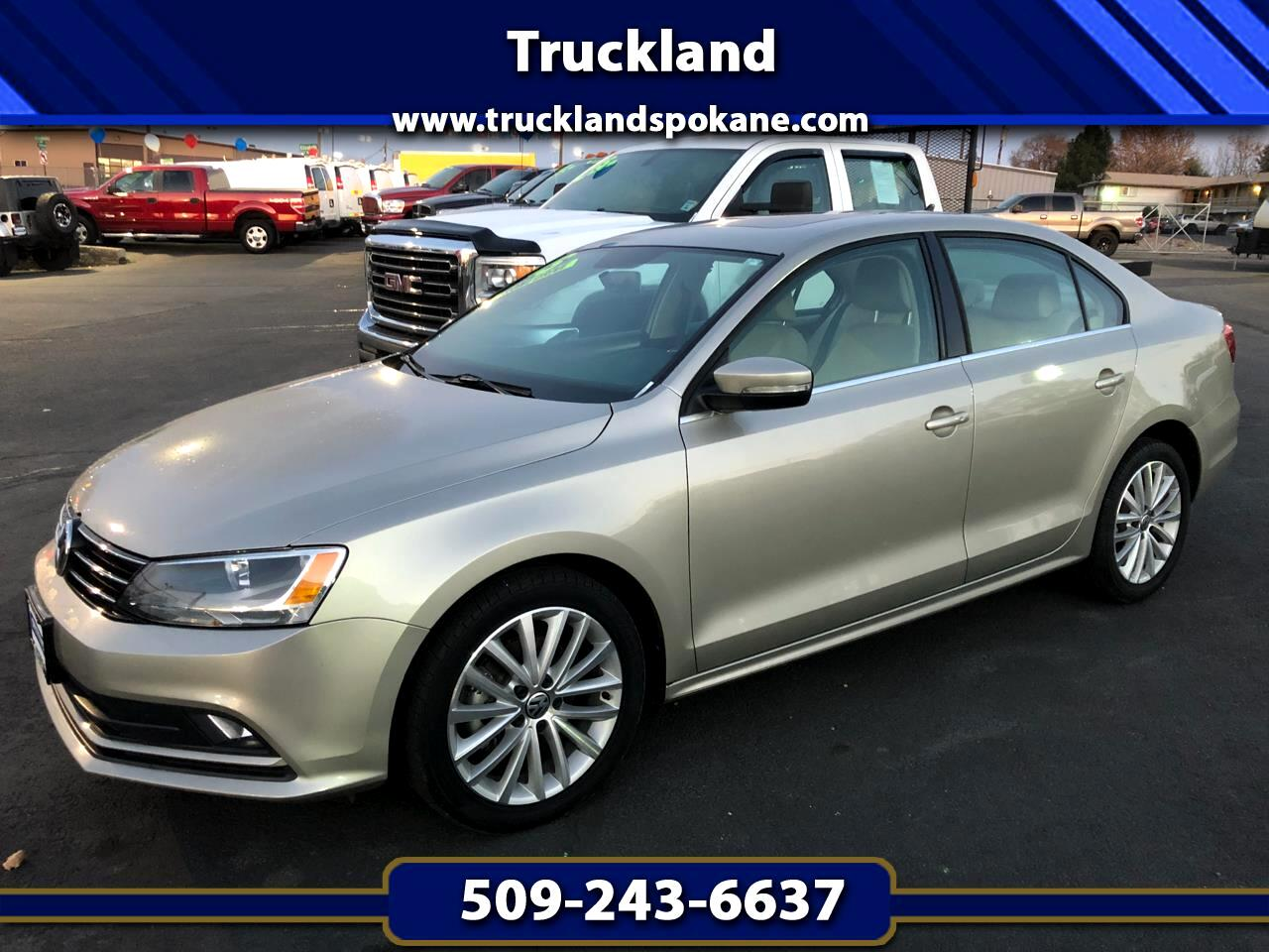 2015 Volkswagen Jetta Sedan 4dr Auto 1.8T SE w/Connectivity/Navigation PZEV