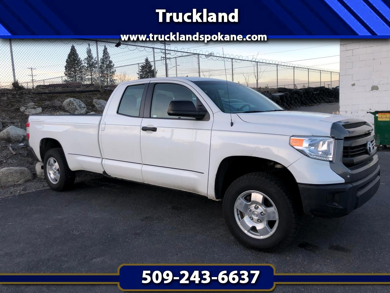 2014 Toyota Tundra 4WD Truck Double Cab LB 5.7L V8 6-Spd AT SR (Natl)