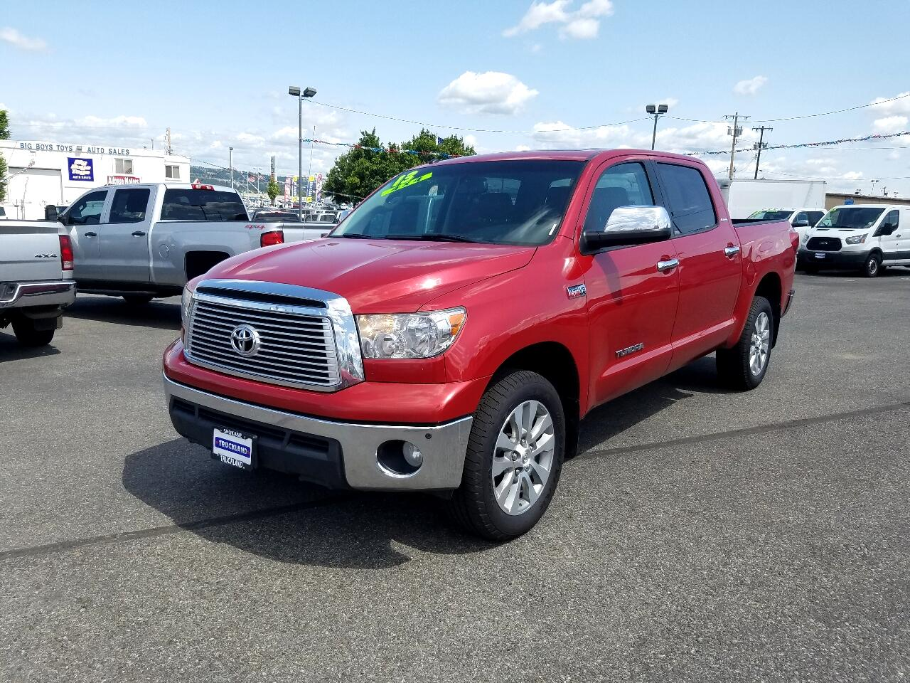 2013 Toyota Tundra 4WD Truck CrewMax 5.7L V8 6-Spd AT LTD (Natl)