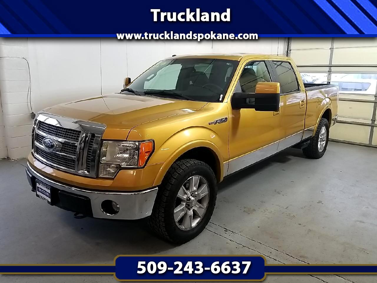 "Ford F-150 4WD SuperCrew 145"" Lariat 2009"