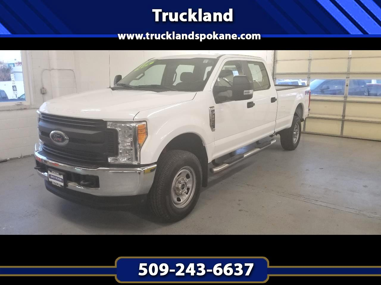 "Ford Super Duty F-350 SRW 4WD Crew Cab 172"" XL 2017"
