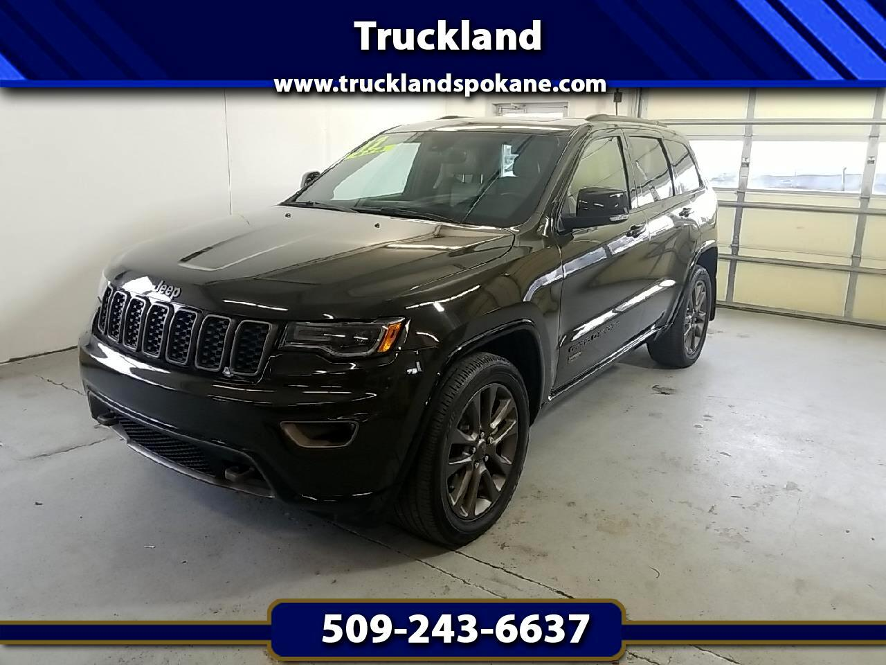 Jeep Grand Cherokee 4WD 4dr Limited 75th Anniversary *Ltd Avail* 2017