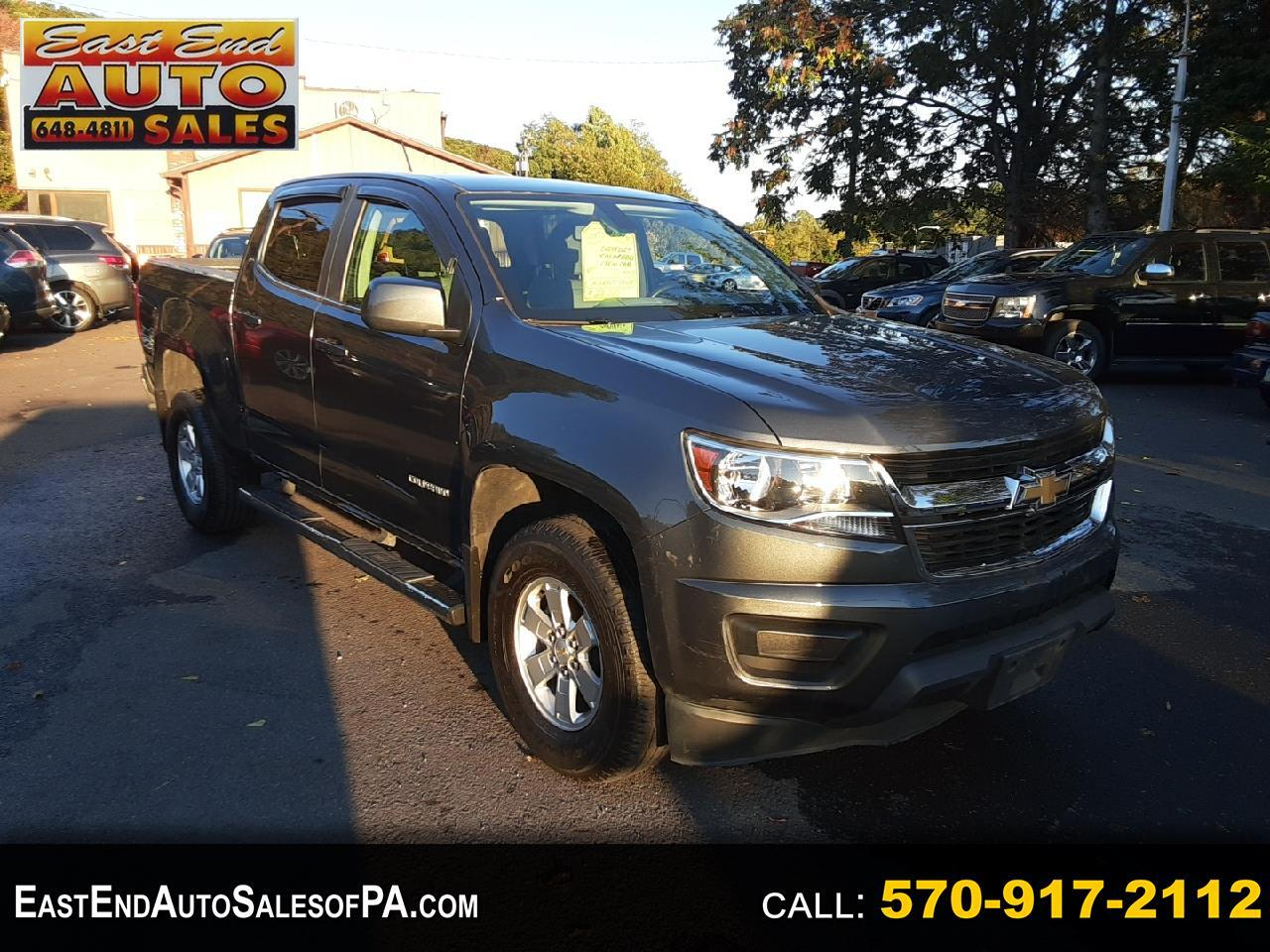 Chevrolet Colorado Work Truck Crew Cab 4WD Short Box 2017