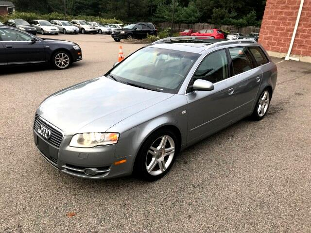 2007 Audi A4 Avant 2.0T Quattro 6 speed manual