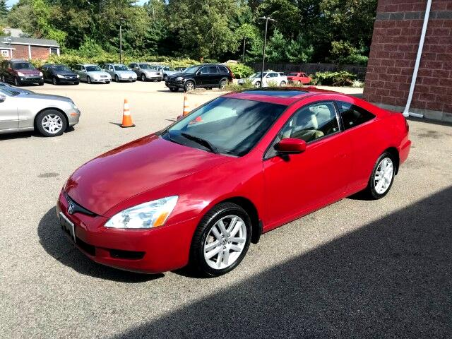 2005 Honda Accord EX V-6 Coupe 6-Speed MT with Navigation System and