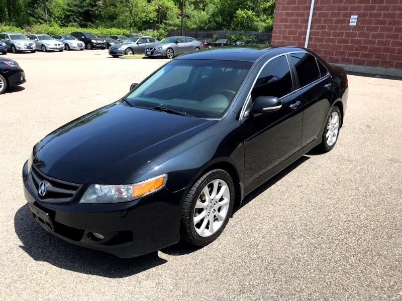 2008 Acura TSX 6-speed MT