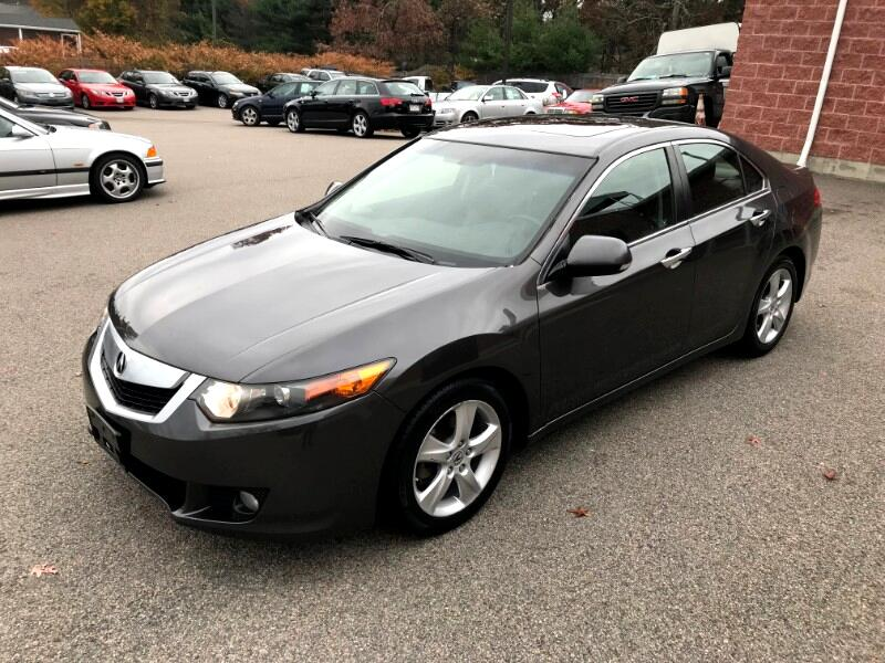 Acura TSX 5-speed AT 2010