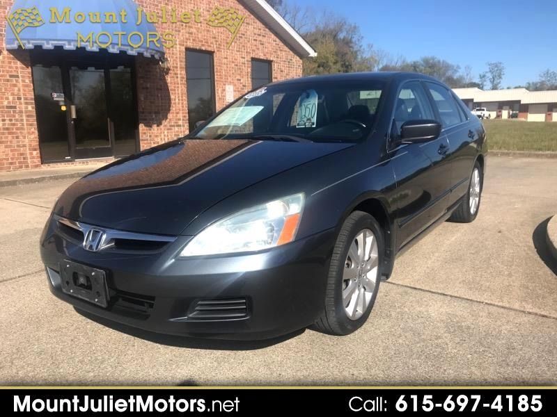 2007 Honda Accord Sdn 4dr V6 AT EX-L w/Navi
