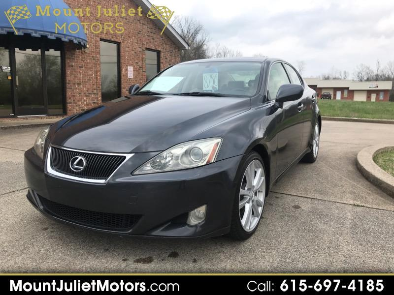 Lexus IS 250 4dr Sport Sdn Auto 2007