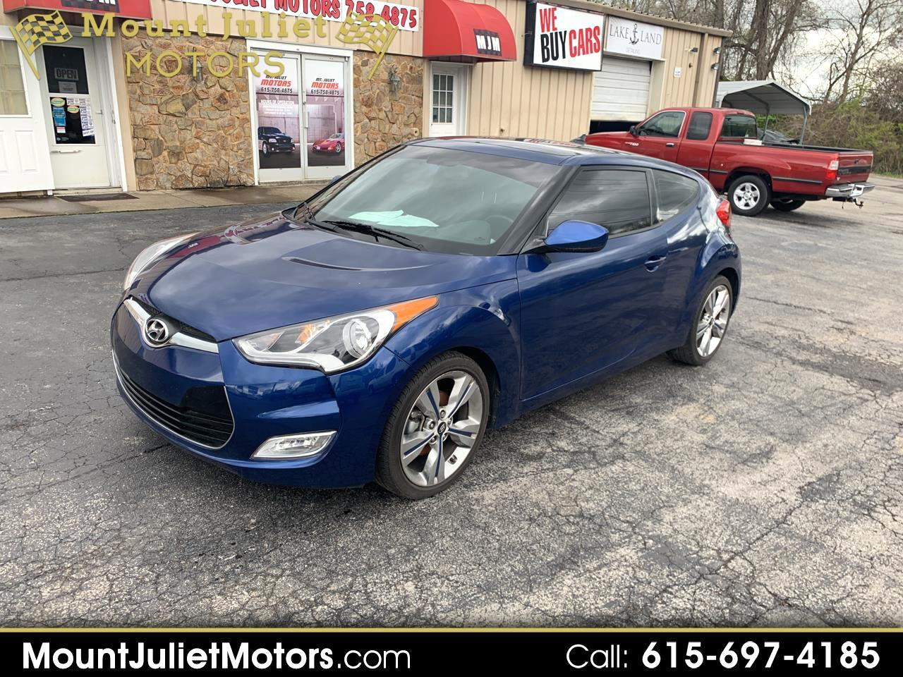 Hyundai Veloster Base 6AT 2017