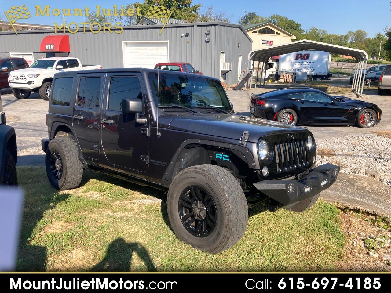 Jeep Wrangler Unlimited Sport 4WD 2016