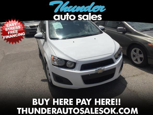 2013 Chevrolet Sonic LS Manual Sedan