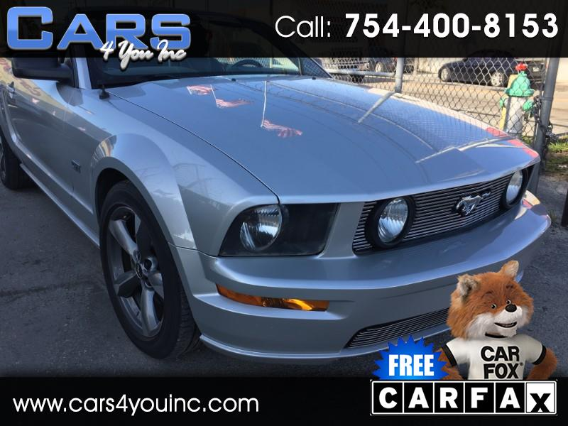 Ford Mustang GT Deluxe Convertible 2006