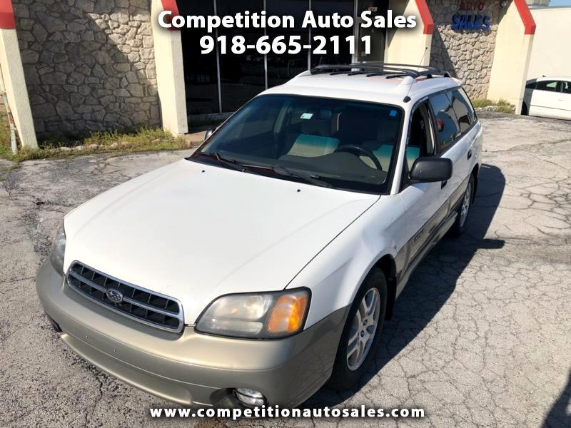 Subaru Outback Wagon w/ All-weather Package 2001