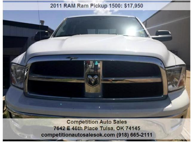 2011 RAM 1500 SLT Crew Cab 4WD
