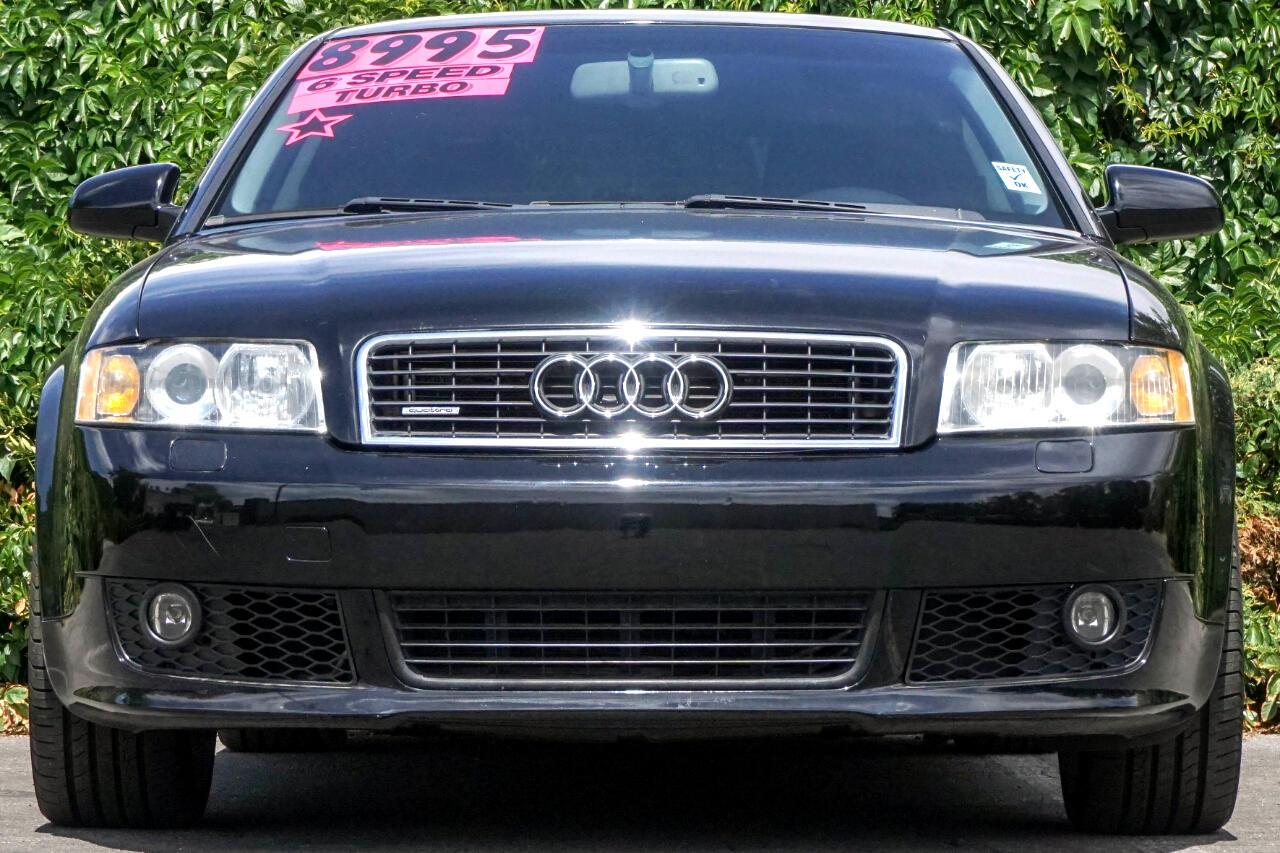 2004 Audi A4 2004.5 4dr Sdn 1.8T quattro Man
