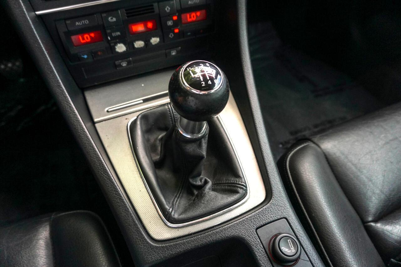 Audi A4 2004.5 4dr Sdn 1.8T quattro Man 2004