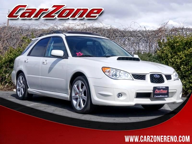 2007 Subaru Impreza Wagon 4dr H4 Turbo AT WRX Ltd Beige Int