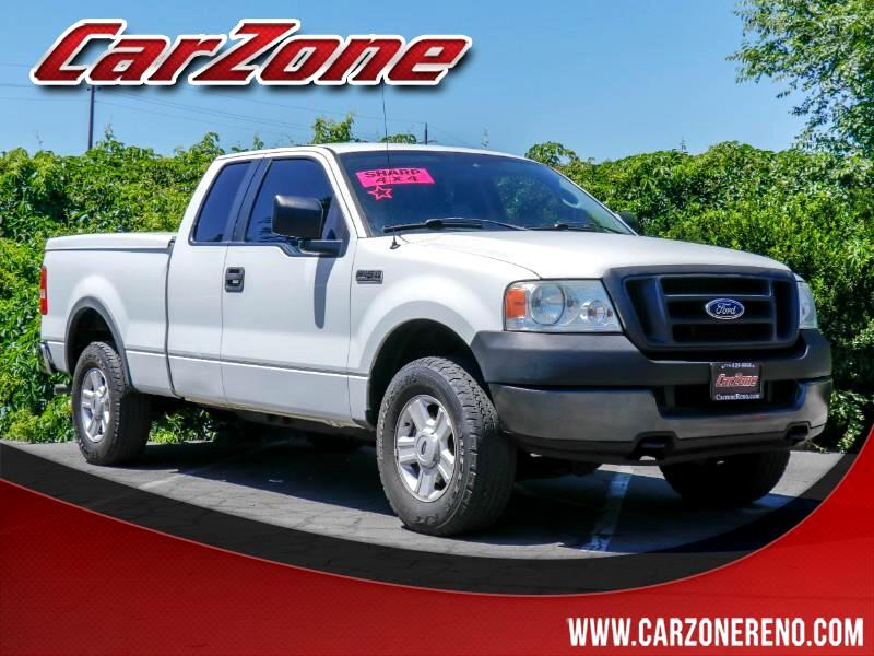 2005 Ford F-150 Supercab 133